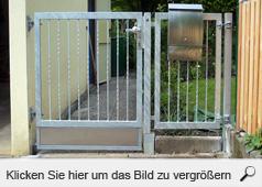 schlosserei metallbau l del schwabach gartent ren edelstahl gartent r. Black Bedroom Furniture Sets. Home Design Ideas